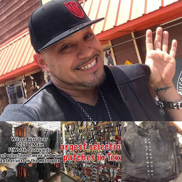 ***WILSONS LEATHER*** 2225 N. Main St Ft Worth TX  817-625-4512 Carrying Men's & Womens Leathers! I only buy the best! Jeff Wilson carries some of the best leathers I've found locally! Go see my boy and tell him Crush Alvarado Metroplex Kustoms sent you!