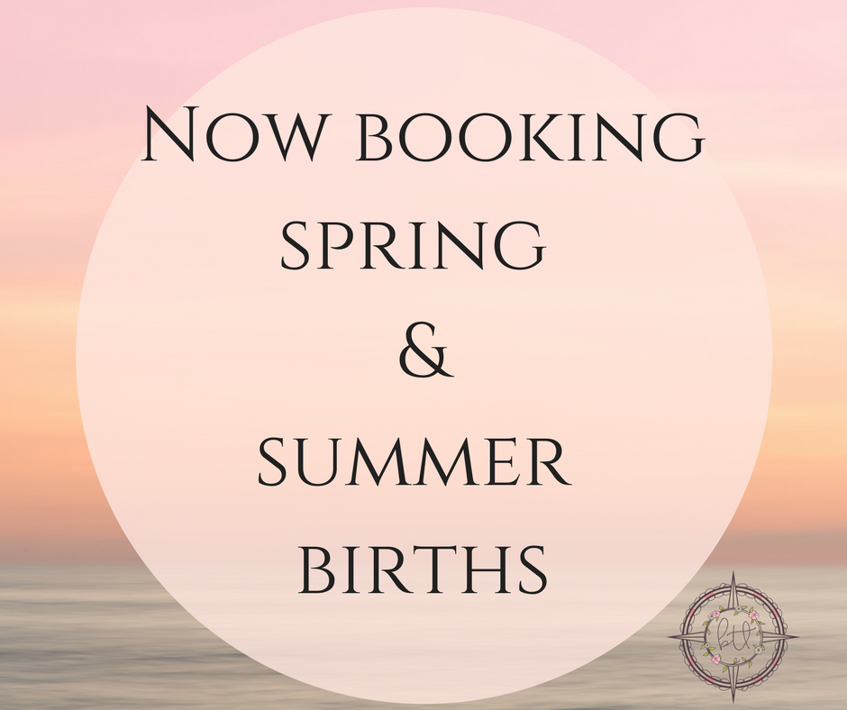 The calendar is filling up but I've got availability still, for spring and summer 2017. Book your birth doula in Los Angeles today!