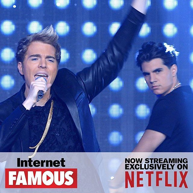 Feeling the Monday blues? #InternetFamousMovie will get you laughing in no time. Catch it now, streaming on @netflix! Starring #shanedawson #christiandelgrosso #amandacerney #stevegreene #wendymccolm #richardryan