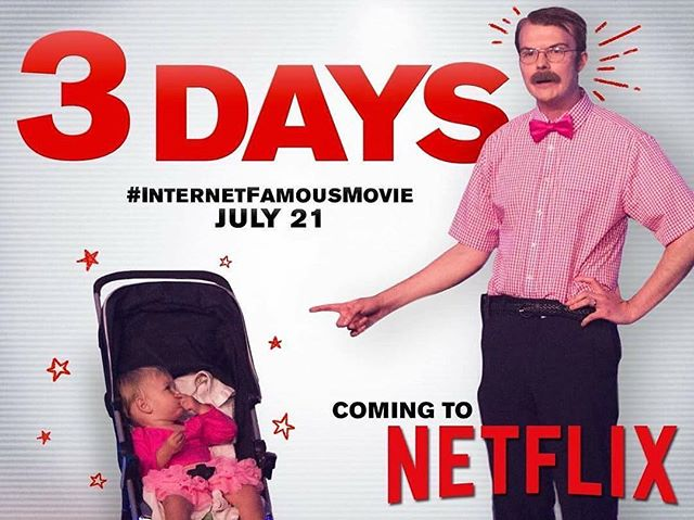 Haven't watched #InternetFamousMovie yet? Dry those tears--you can catch it on #Netflix in just 3 days!