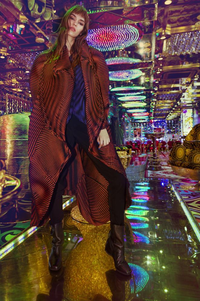 total look ISSEY MIYAKE