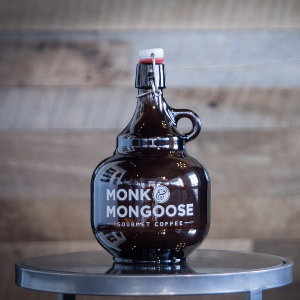 GROWLER WITH   A FREE FILL OF OUR CRAFT COLD BREW COFFEE
