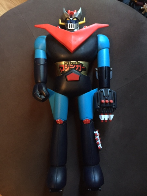 He is a full view of my Great Mazinger from the Shogun Warriors Line.