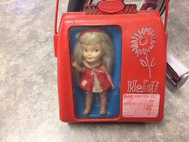 Heidi pocketbook doll by remco
