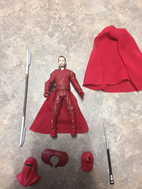 Emperor's royal guard stripped down and unmasked.