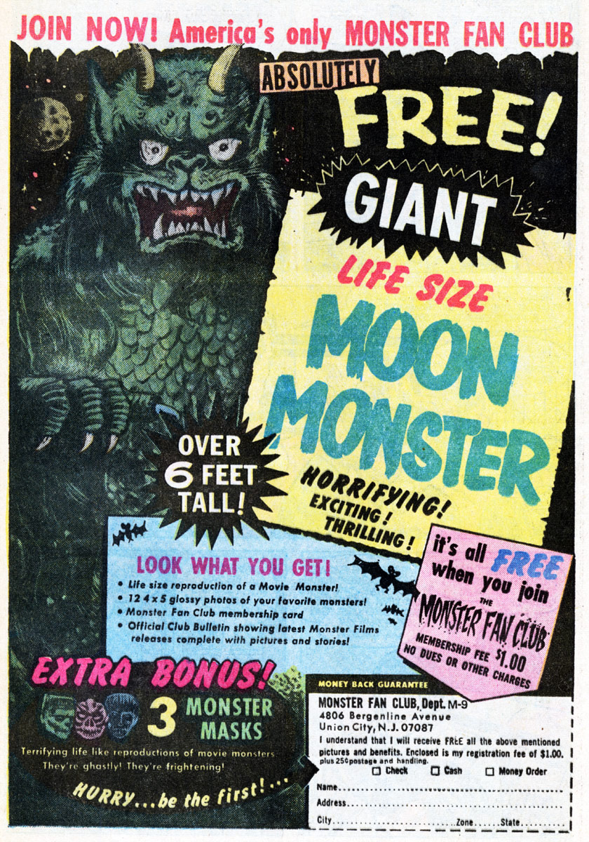 the legendary moon monster of comic book fame.