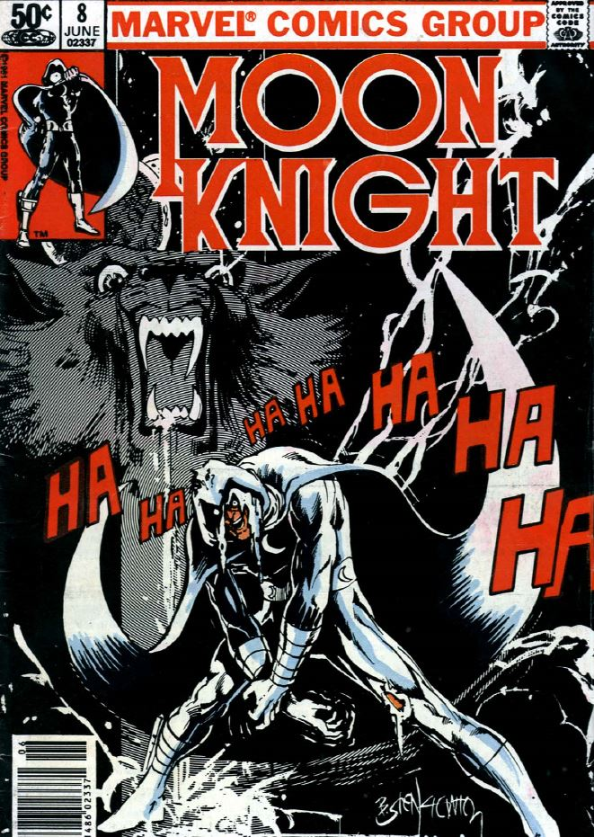 Moon Knight's first series kept him fighting some supernatural critters like werewolves and zombies.