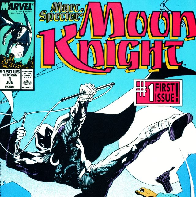 the long running Marc Spector: Moon Knight started off promising.