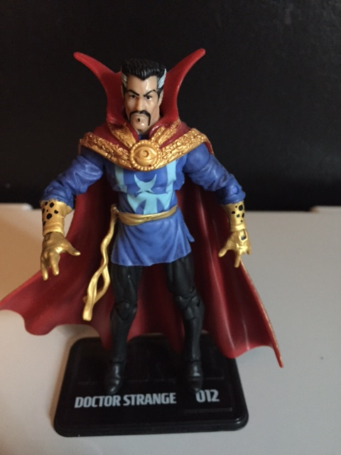 Dr. Strange for the 2011 Marvel Universe 3.76 inch line.