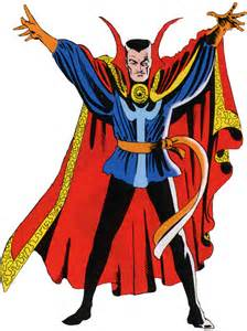 the iconic steve ditko dr. Strange