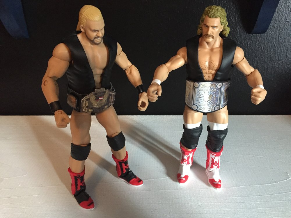 I thought i remembered those boots.  they are the same ones that barry windham from the four horseman set is wearing only in white instead of black.
