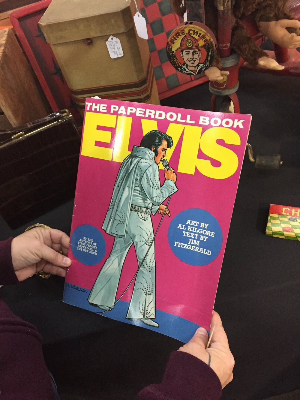 elvis paper doll book.