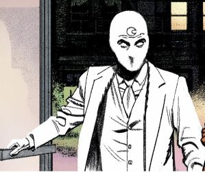 Mr. Knight.  the best thing to happen to moon knight in years.