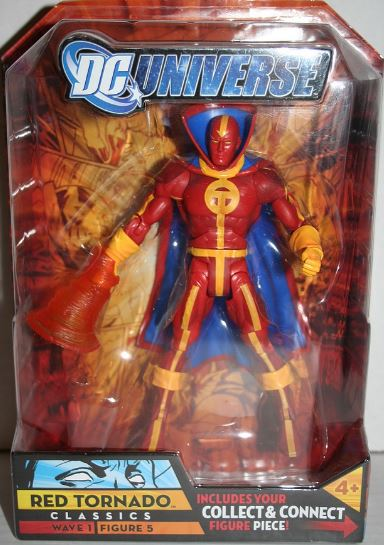 DC classics 6 inch red tornado action figure