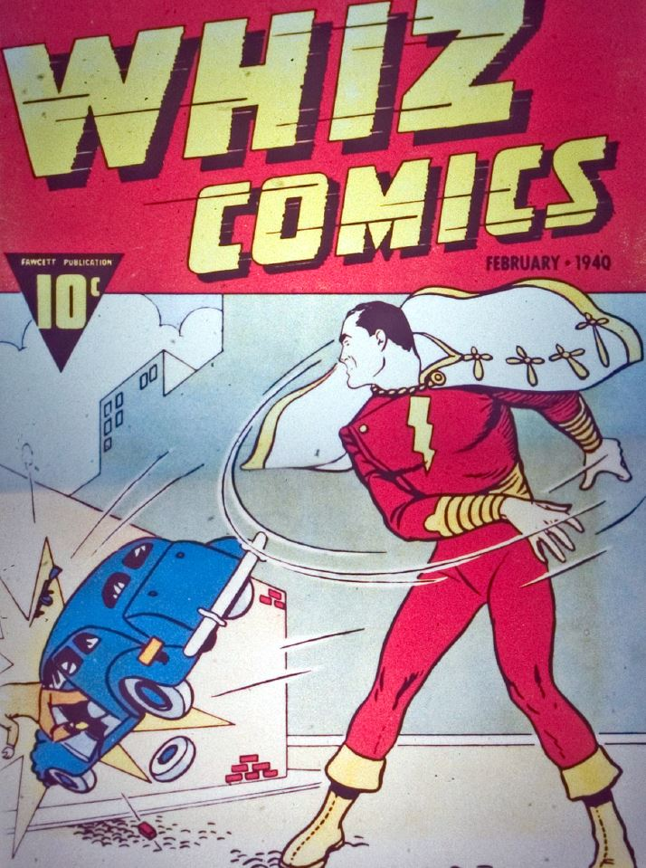 the first appearance of captain marvel in whiz comics #2.  oddly enough there was no whiz comics #1.  they strangly started the numbering of the series at issue 2.