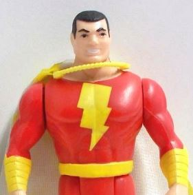 in the 1980's captain marvel was part of the DC Super Powers action figure line up.