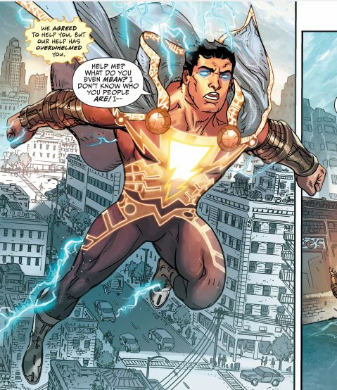 sadly, over the last decade, DC Comics has struggled to find direction for the classic character now renamed shazam.  the modern continuity now has a completely changed billy batson who is no longer an innocent child and shazam himself bears little resemblence to the classic hero.
