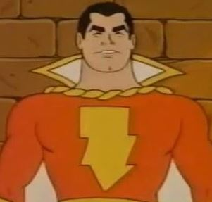 the 1970's shazam animated series.