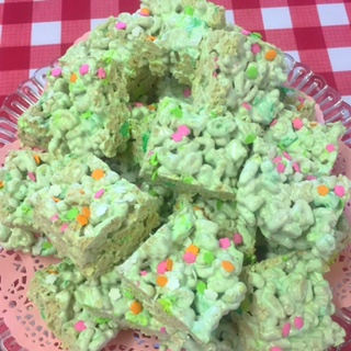 Tonya's Diner serves up a great St. Patrick's Day snack!