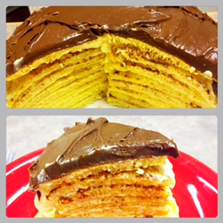 feature article - Tonya's diner serves up a chocolate eclair crepe dessert