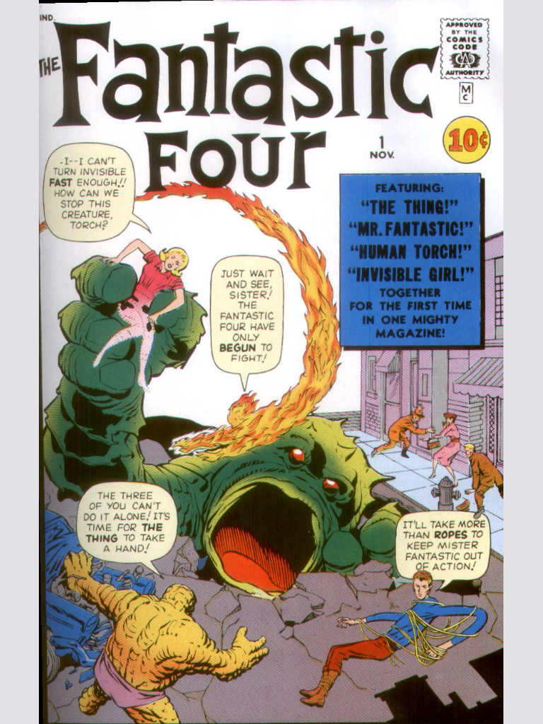 The marvel universe in order - 1 - The Fantastic Four issue 1