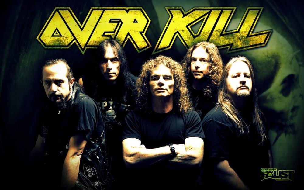 thrash heavy metal show 13 featuring overkill