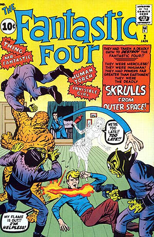 The Marvel Universe in order podcast - episode 2 - talking fantastic four issue 2