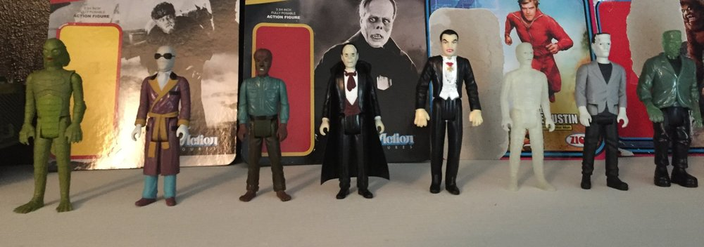 Universal monsters action figure collection