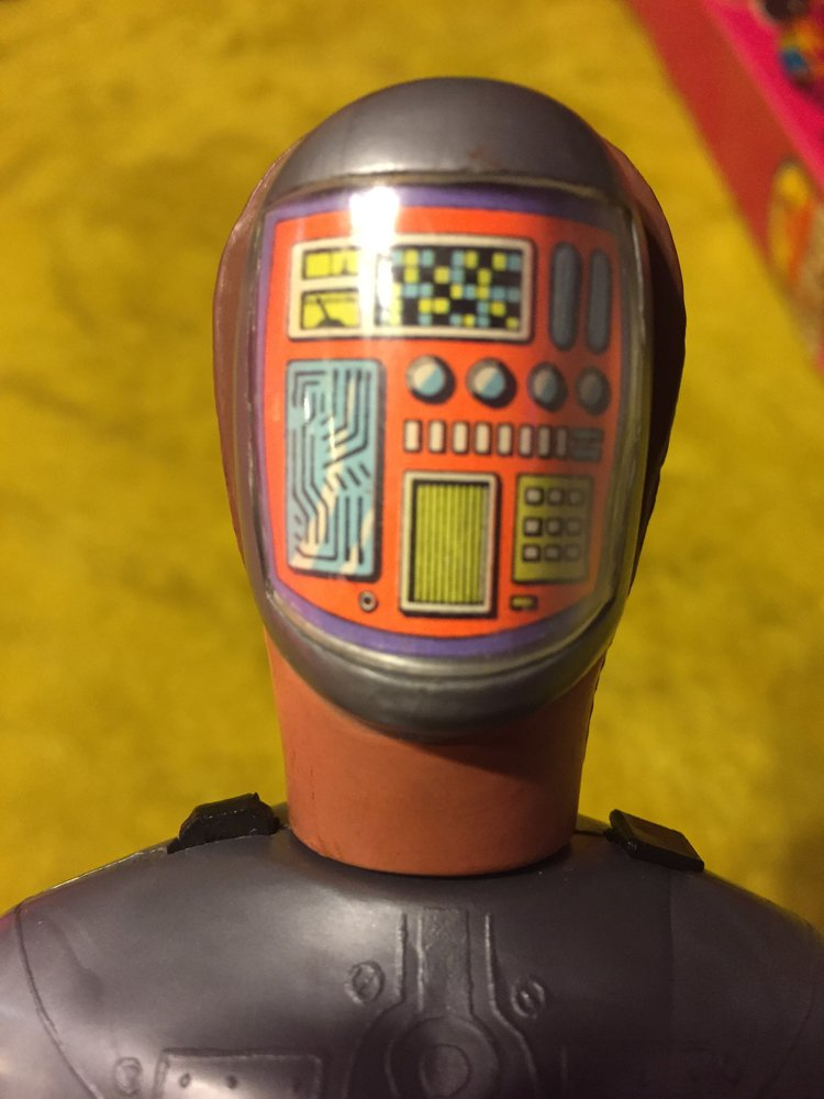 a look at the 1970's six million dollar man maskatron action figure