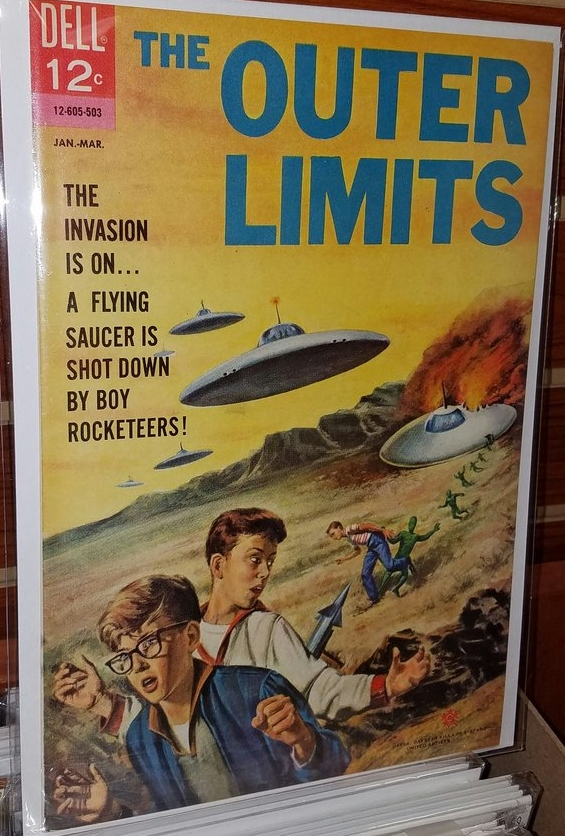 The outer limits issue 5 (Dell Comics) comic book review