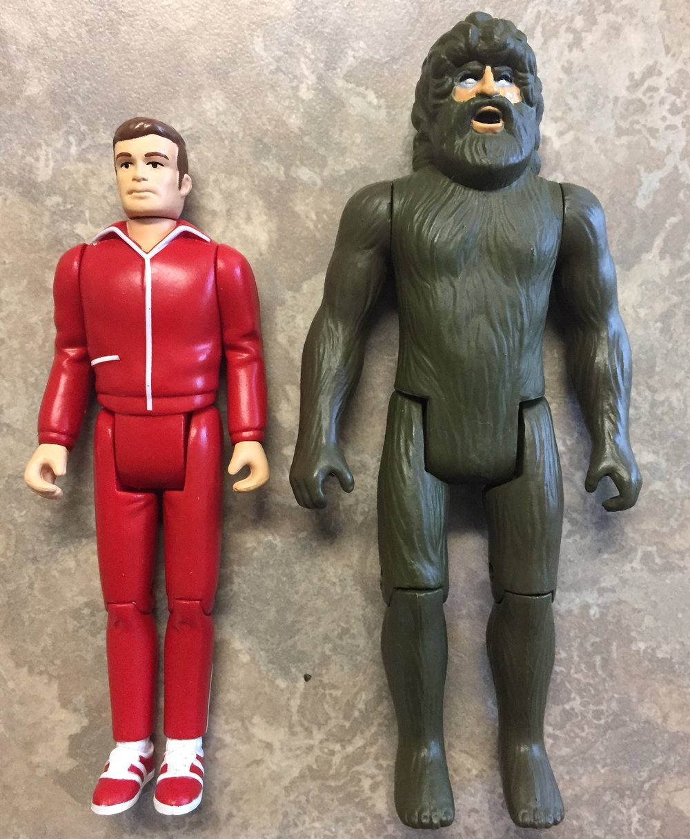Here Is The Zica Figure Pictured Beside The Retro Styled Steve Austin Six Million Dollar Man And Stands Considerably Taller And Bulkier Which Is A Nice