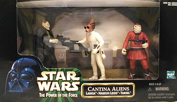 cantina aliens box set from the 1990's.  Labria, Nabrun leids, and Takeel.