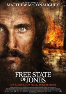 DVD cover to the free state of jones.   Support When It was Cool .