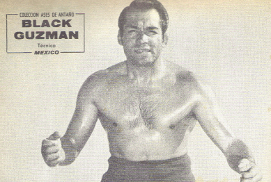 Black Guzman, the brother of El Santo.