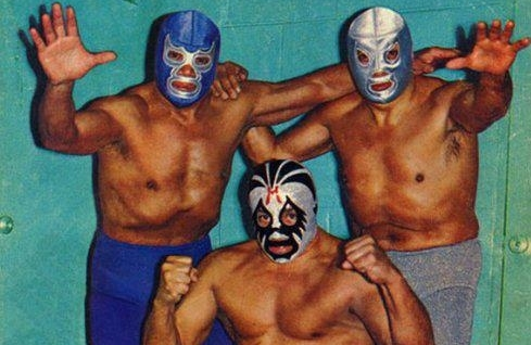 Blue Demon, Mil Mascaras, El Santo