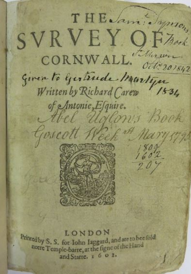 Survey of Cornwall book.JPG