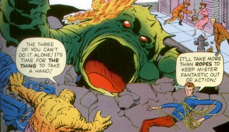 Fantastic Four issue 1.JPG