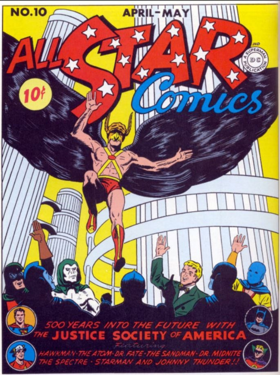 1 All Star Comics 10 1942.JPG
