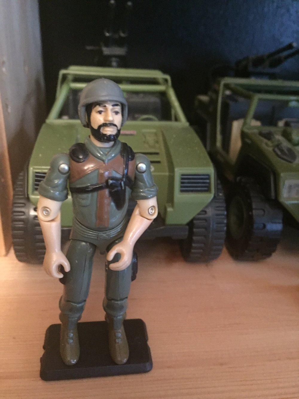 G.I. Joe Clutch (1983) and the VAMP Jeep