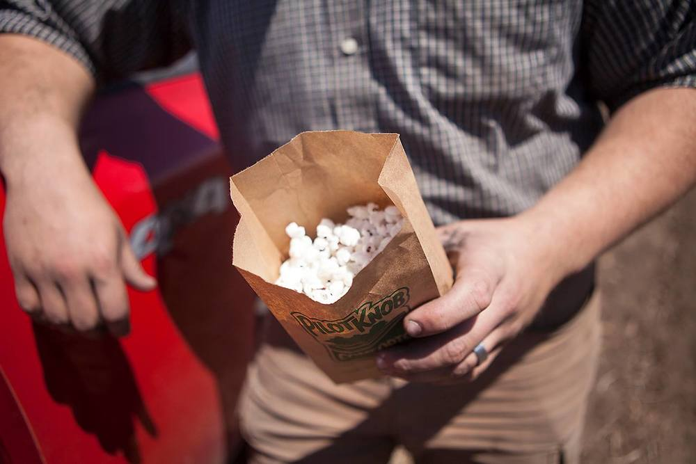 enjoying our hull-less popcorn is simple. It's versatile.