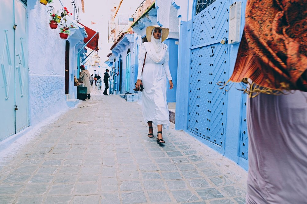chaouen chic, morocco