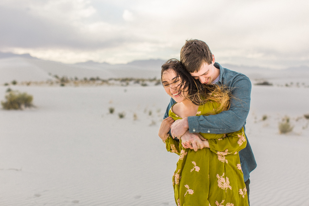White Sands, New Mexico Couples Shoot