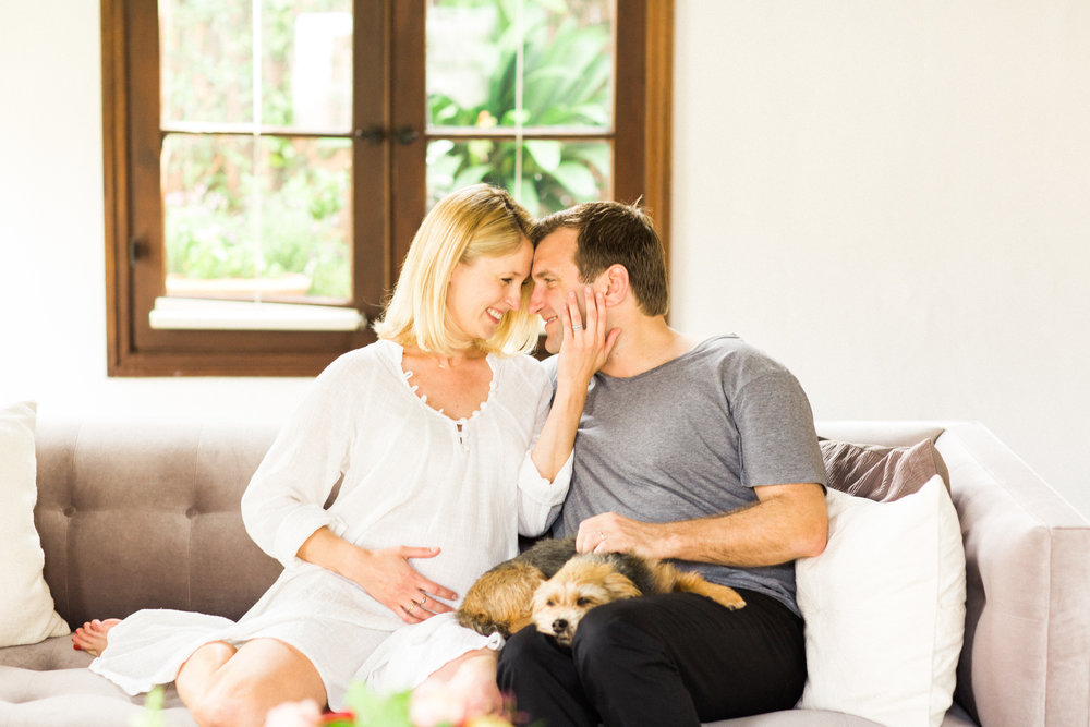 Los Feliz Lifestyle Maternity Session