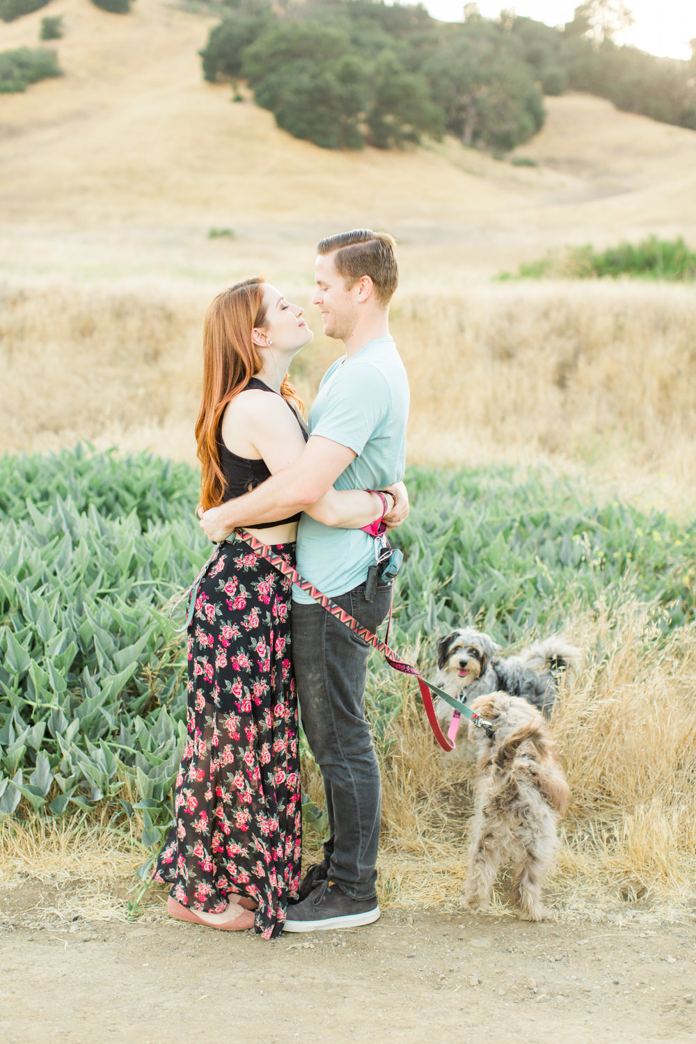 Malibu Engagement Session - Briana + Alex