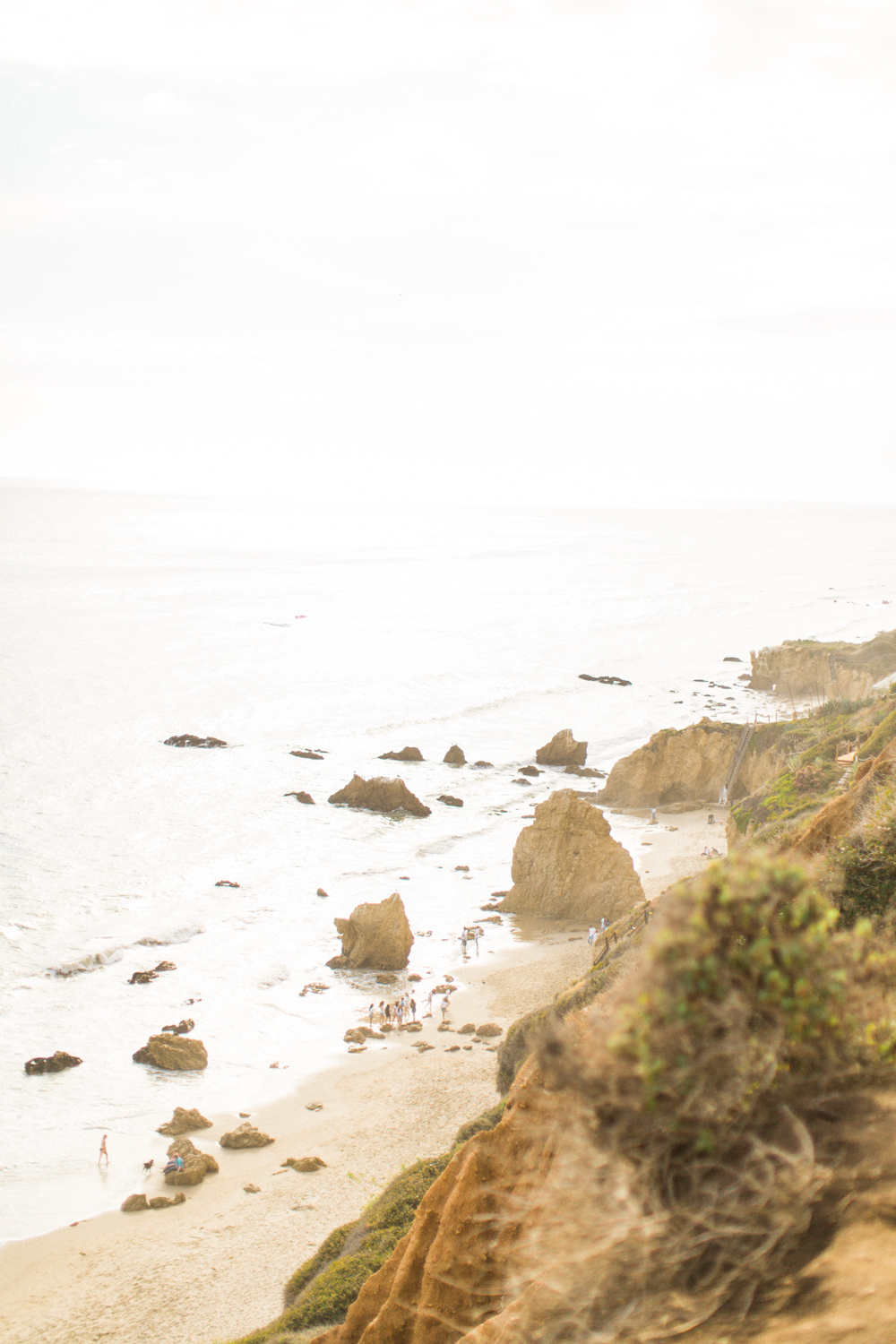 Photojournalistic El Matador Beach Engagement Session-1.jpg