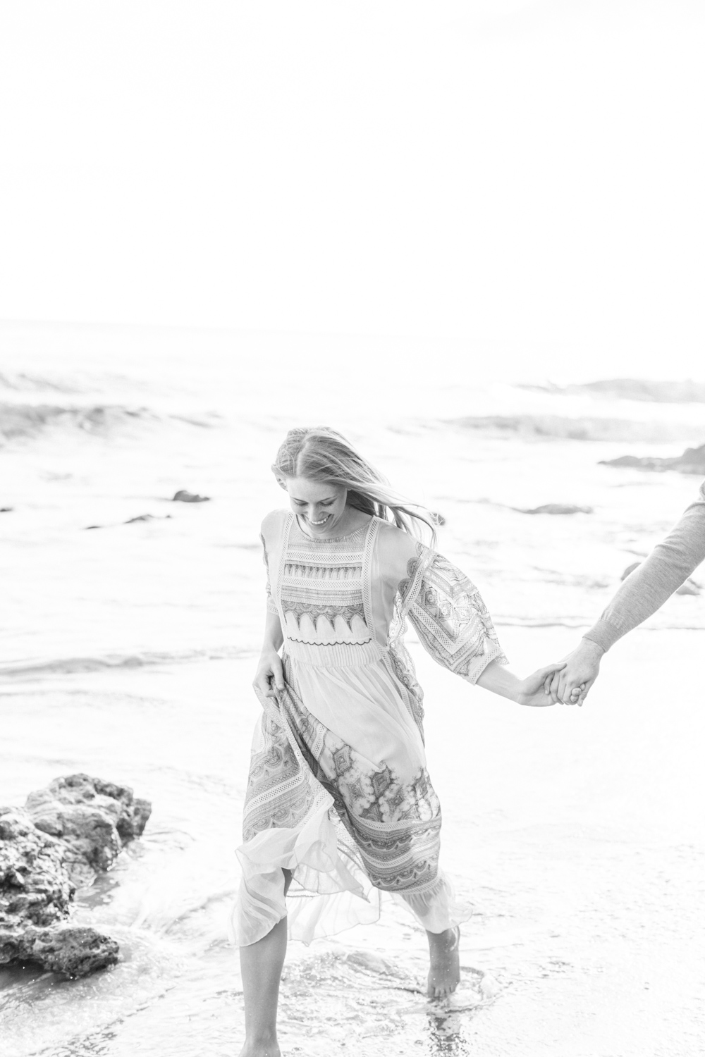 Photojournalistic El Matador Beach Engagement Session-16.jpg