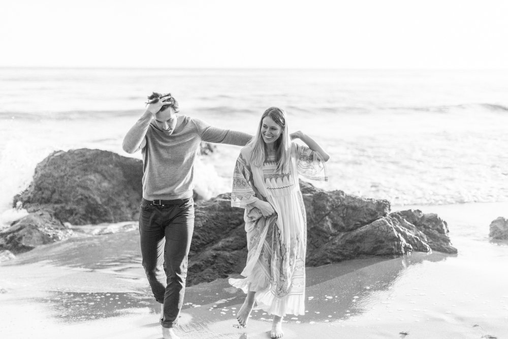 Photojournalistic El Matador Beach Engagement Session-40.jpg