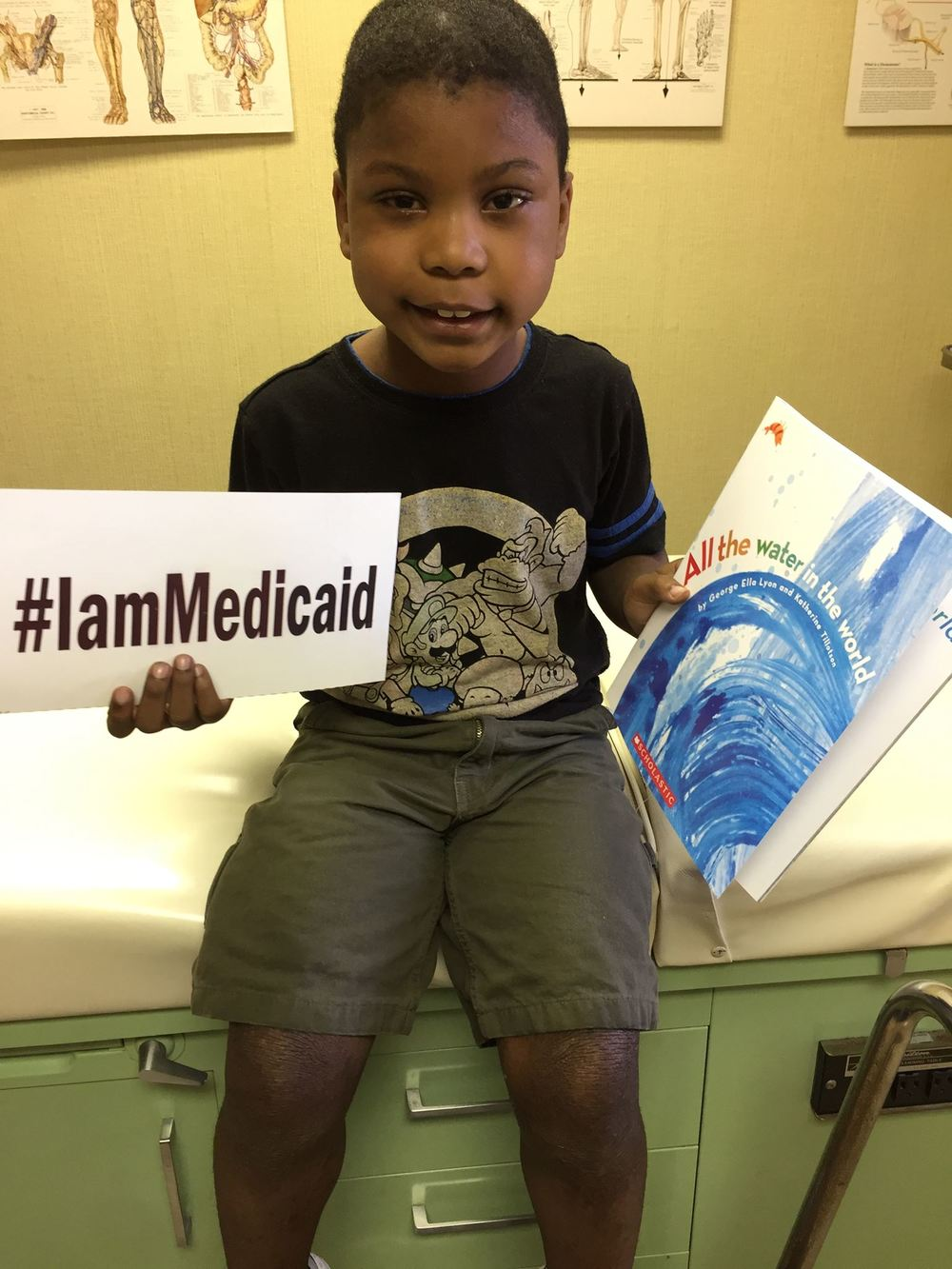 I have All Kids Insurance now but use to have Medicaid. Thanks Medicaid for helping me with severe atopic dermatitis.  #‎IamMedicaid