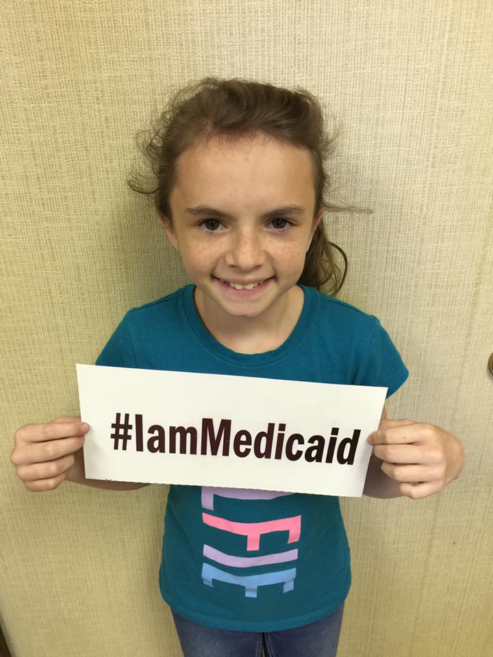 I have Russell-Silver Syndrome. Thanks, Medicaid for my care. ‪#‎IamMedicaid