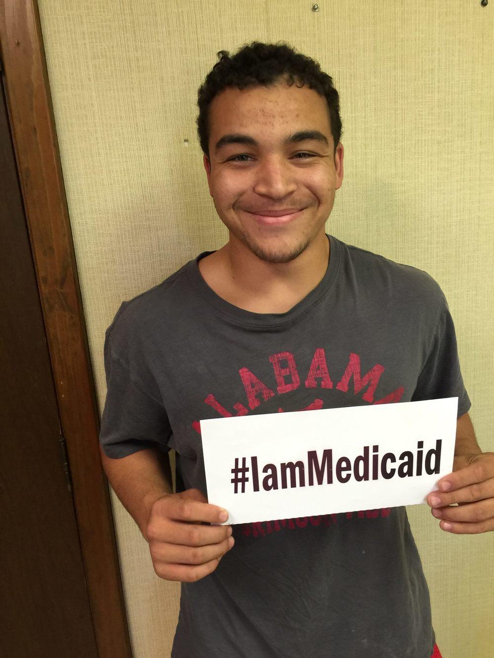 I am a great football player. Last year I had ablation for cardiac arrhythmia. Thanks Children's Hospital. #IamMedicaid